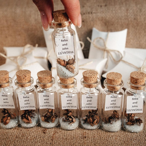Ideas For Wedding Favors For Guests: Elegant Wedding Favors Thank You Gifts For Guests Rustic