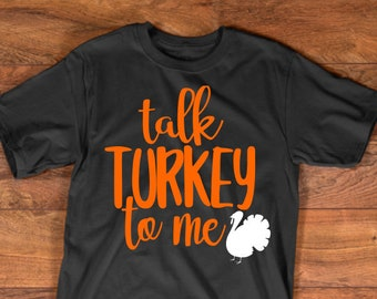 View Talk Turkey To Me – Hand Lettered Svg Crafter Files