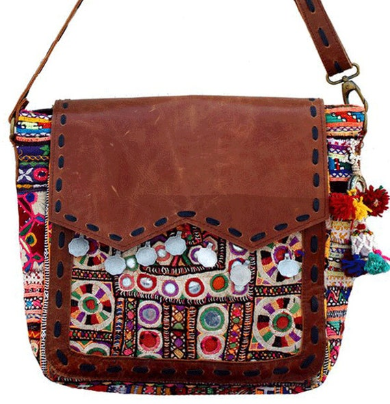 e80df091db123 Vintage boho bag for women hobo bag banjara bag hippie bag