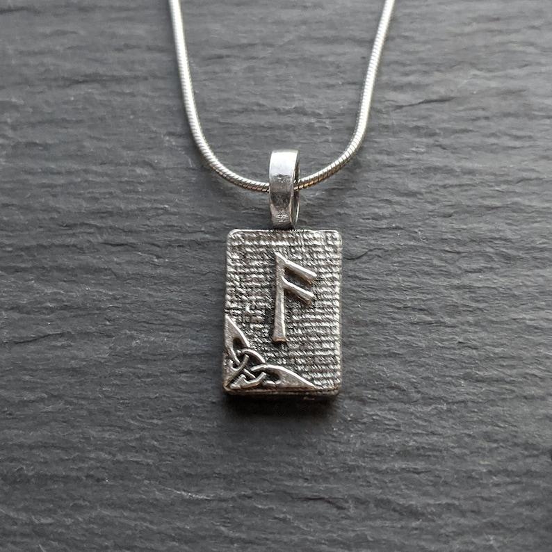 Inspiration Ansuz Rune Pendant \u2013 Higher Power Divine Force \u2013 Ancient Traditions