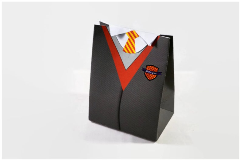 Wizards Uniform  Party Gift Bags / Favor Box / Loot Bag image 0