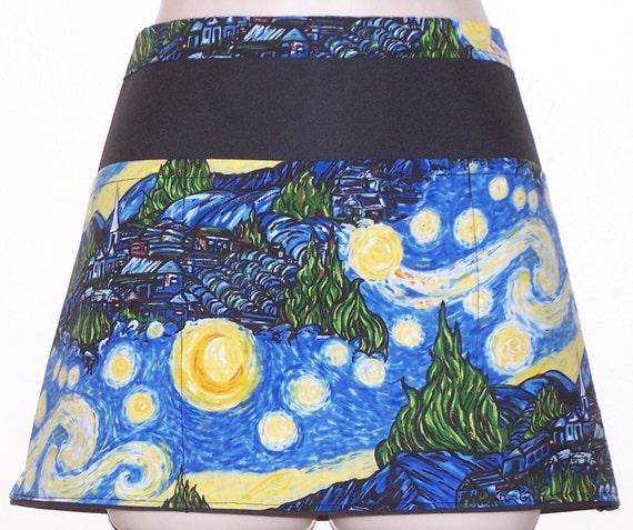 Half Apron Starry Night