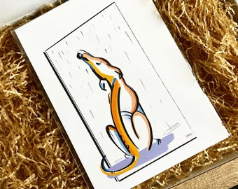 COMMISSION YOUR OWN : Colour block Art, All Animals Welcome