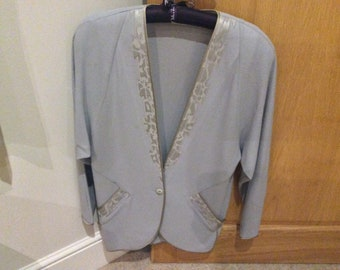 118bb9d9e7c34 Beautiful Vintage Janice Wainwright Fine Wool and Silk Outfit
