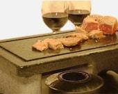 Mini-Max Soapstone Grill
