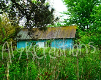 Abandoned House, Photography, Digital Download