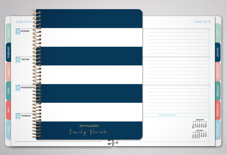 2020 planner personalized 2019 2020  12 month planner  image 0