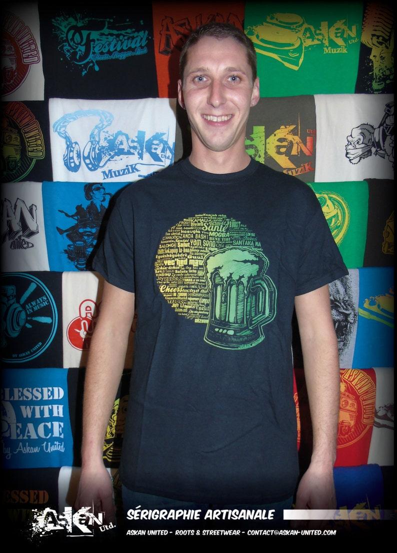 T-shirt ASKAN UNITED Health  Tee shirt black  image 0