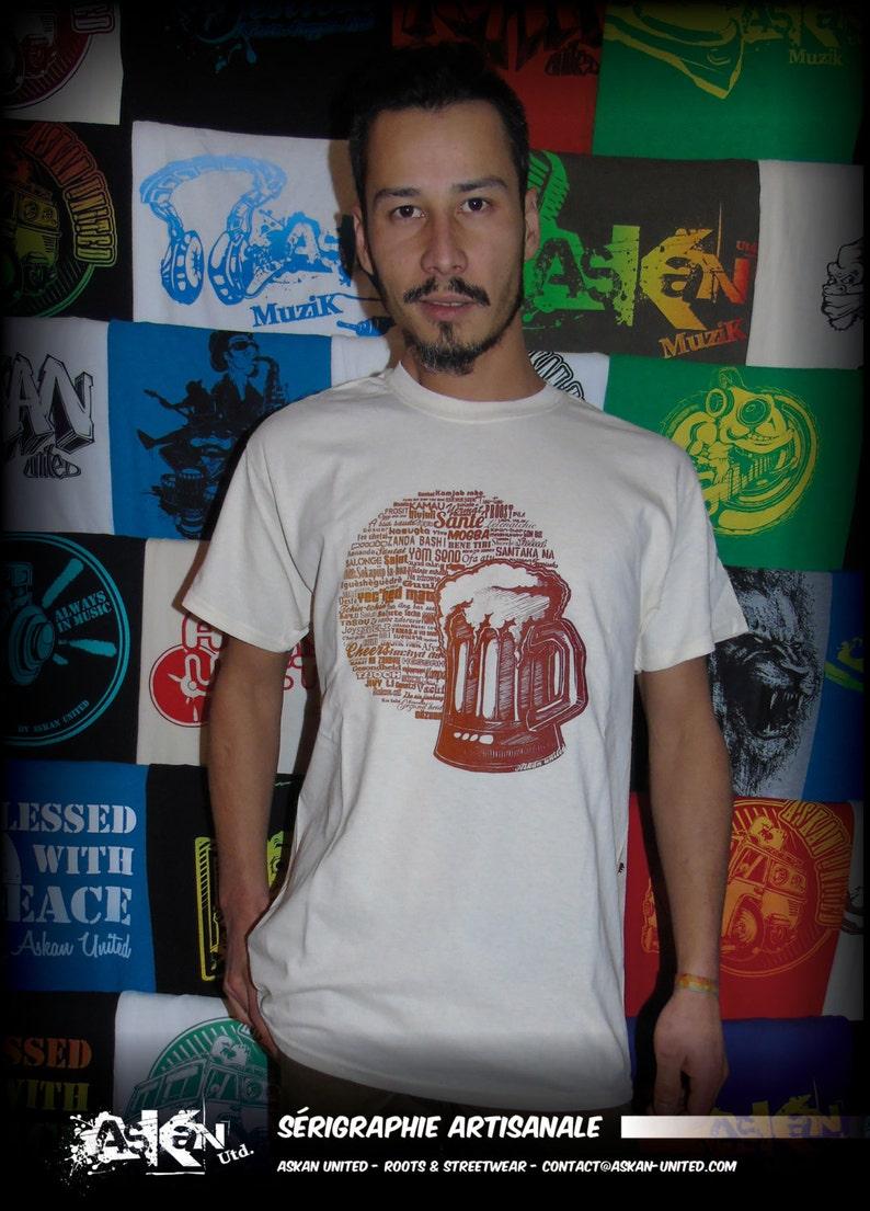 T-shirt ASKAN UNITED Health  natural White image 0