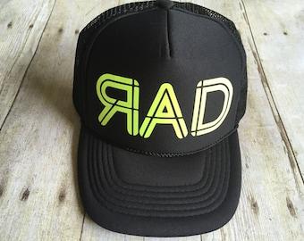 Kids RAD trucker hat