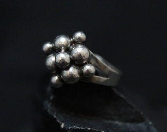 Erik Granit & Co. Sterling Silver Ring, Designer Vintage Silver Ring, Mid-Century Sterling Silver Ring, Finnish Jewelry