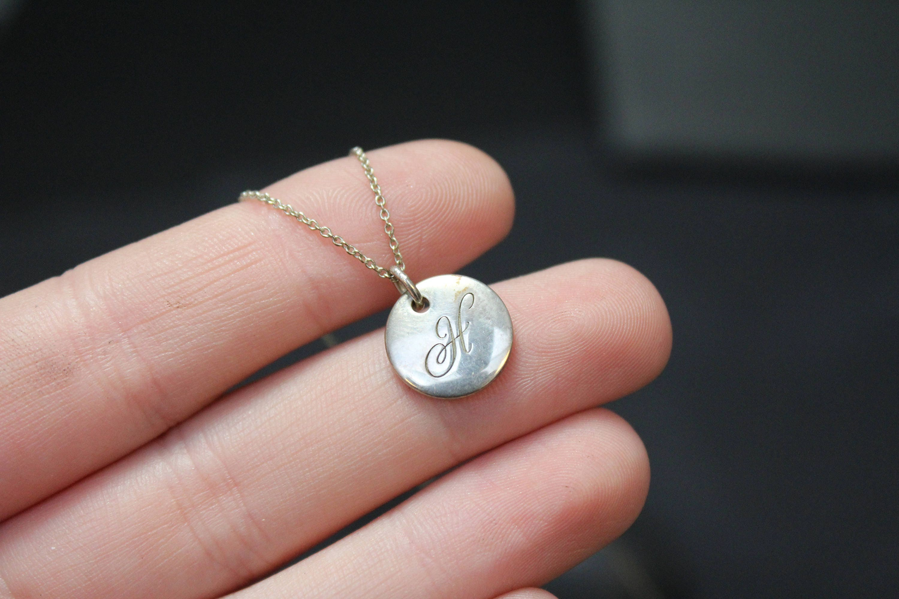 Silver Charm Initial H