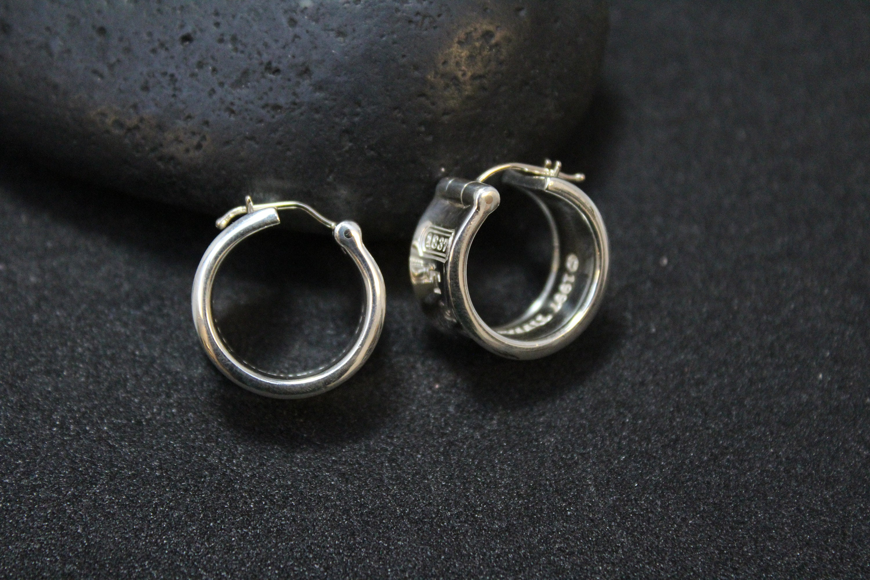 476b93416 ... Tiffany and Co Wide Hoop Earrings. gallery photo gallery photo gallery  photo ...