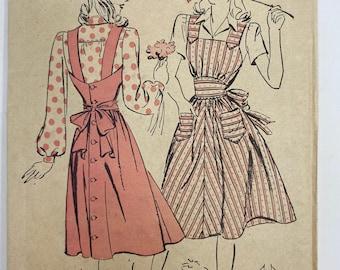 Advance Pattern 2770, Pinafore & Blouse; Size 16, Bust 34, Hip 37, Rare