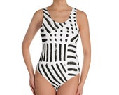 Imperfect Clizia One-Piece Swimsuit_Dots Dashes