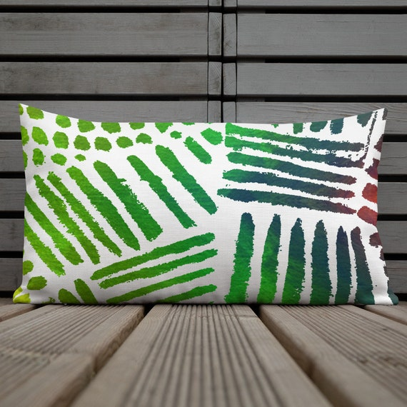 Colorful forest Pillow Cover Decorative Lumbar Pillow Summer Trend Cushion Bedding Home Decor Housewarming Cushion Case Throw Pillow Top