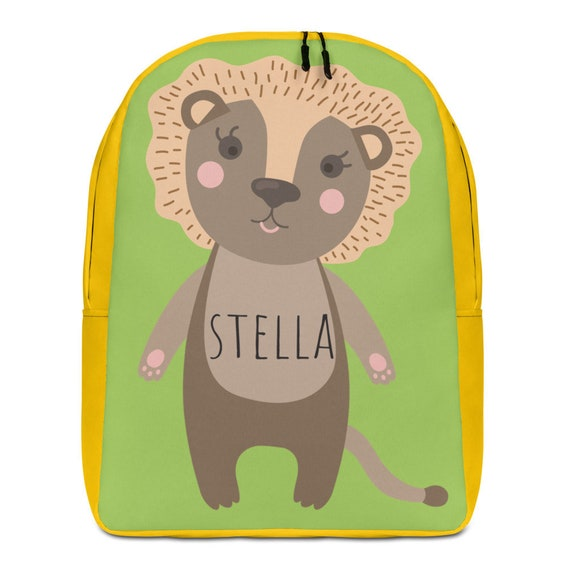 Custom Backpack, Personalized Backpack, Back to school Backpack, Animal Backpack, Kids Backpack, birthday gift, custom gift