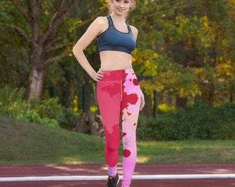 Yoga Leggings - Comfy Leggings - Gym Butt Lifting High Waist Anti Cellulite Tummy Control Booty Running Tights Dancing Pants Soulcycle
