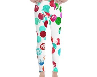 Men's Leggings - Moon - space - pop style -stripes pattern - disco pants - dancing leggings -Meggings - running workout pants