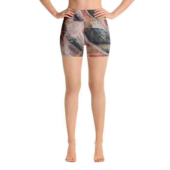 Yoga Shorts - Premium Active Buttery Soft Workout -Gift - Athletic - Running - Fitness - Activewear -Gift for her