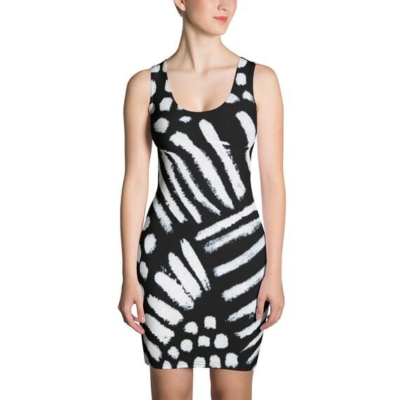 Imperfect Clizia 4 Sublimation Cut & Sew Dress