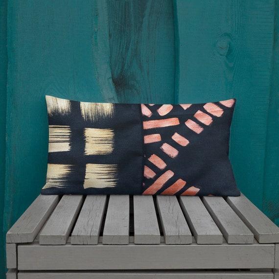Decorative Pillow - Black Pillows - House Warming Gift - Pillow Sham - Pillow Case - Accent Pillow - Toss Pillow - Throw Pillows home decor