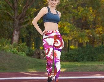 Soft Leggings - Women's Premium Ultra Soft - Buttery Soft Ankle Length Patterned Leggings - Pattern leggings - Plus size leggings
