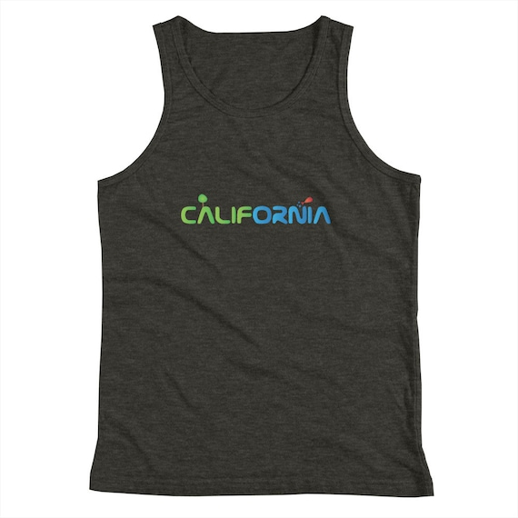 Unisex Tank Top - funny shirt - california gift - Super Soft Exercise Tanks - Yoga Shirts - Workout Tanks for her/him - Daily Tank Tops