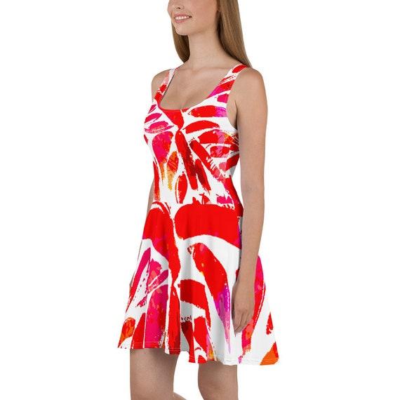 Rosso Skater Dress
