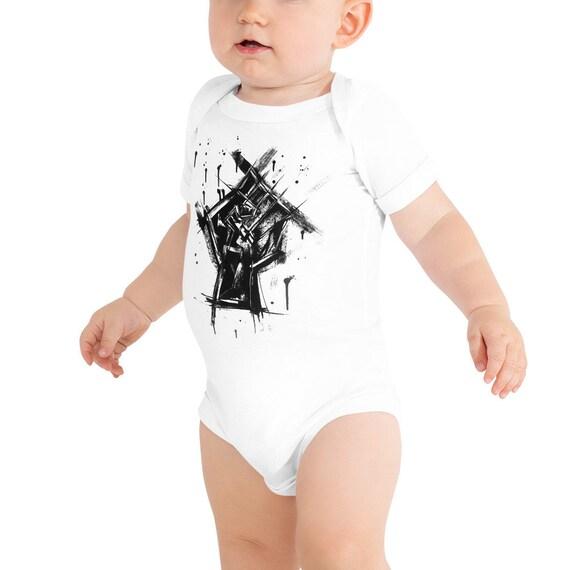 Baby Name Onesie®, Custom Baby Tee, Personalized Name Announcement Baby Onesie® , California Baby Onesie®, Modern Announcement Onesies®
