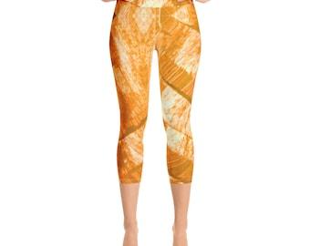 Capri Leggings- Plus Size Leggings -Premium Active Buttery Soft Workout Leggings -Gift - Athletic - Running - Fitness - Activewear