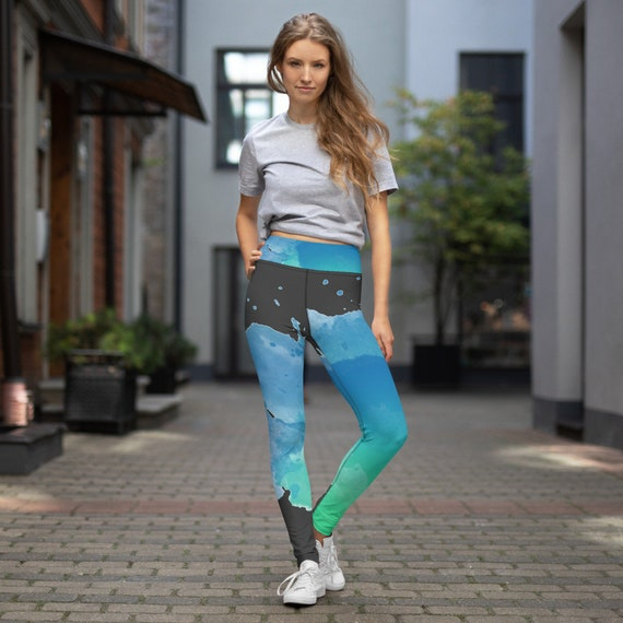 Plus Size Leggings -Premium Active Buttery Soft Workout Leggings -Gift - Athletic - Running - Fitness - Activewear