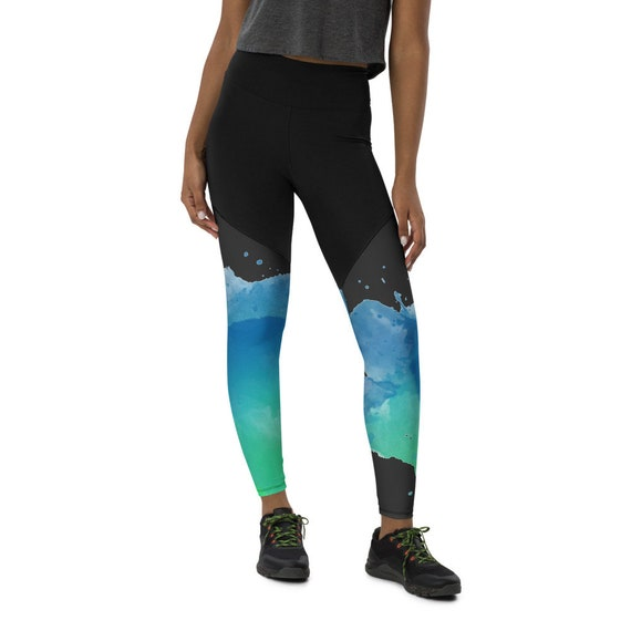 Sports Leggings - All Size Leggings-All Size Leggings - compression leggings -Workout Leggings -Custom Leggings-Leggings with pocket-Pattern