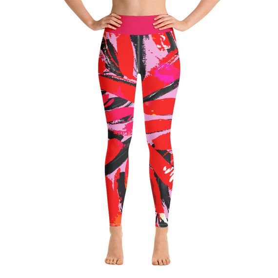 Yoga Leggings - Premium Active Buttery Soft Workout Leggings -Gift - Athletic - Running - Fitness - Activewear -Gift for her