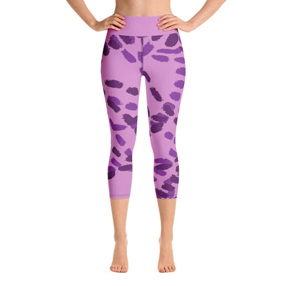Yoga Capri Leggings- Plus Size Leggings -Premium Active Buttery Soft Workout Leggings -Gift - Athletic - Running - Fitness - Activewear