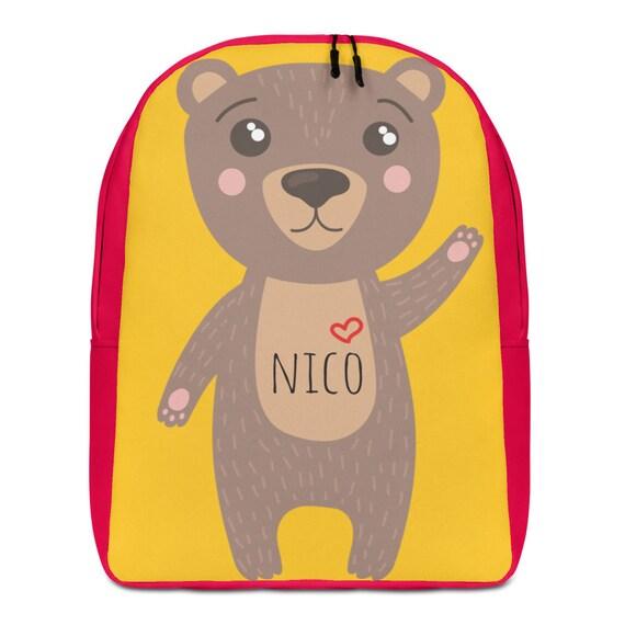 Kids Backpack, Personalized Backpack, Back to school Backpack, Animal Backpack, Kids Backpack, birthday gift, custom gift