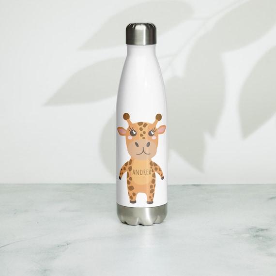 Custom Stainless Steel Water Bottle, Custom water bottle, back to school water bottle, personalized kid water bottle, animal water bottle,