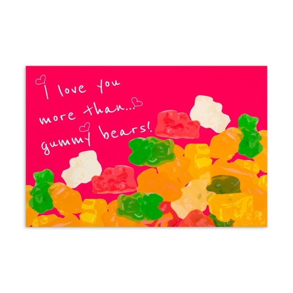 Greeting Card - Birthday Card -Love Postcard - Gift for mom - Gift for dad - Valentines Day Cards - Love Cards - Funny Love Cards