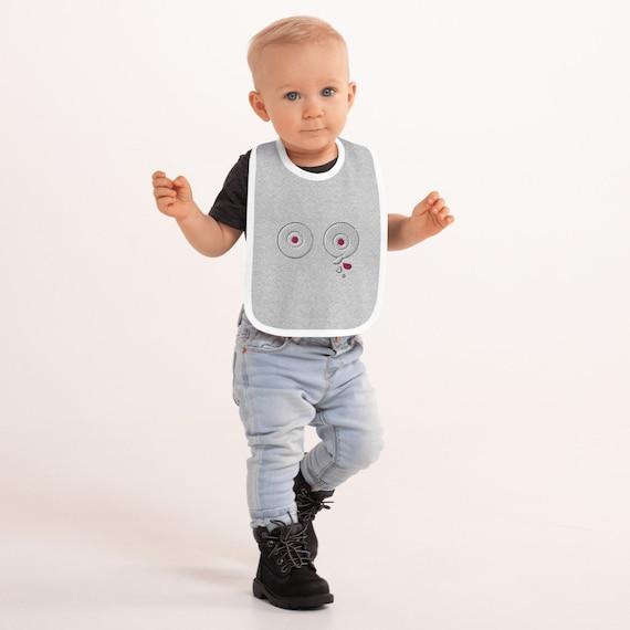 Tettallatte _Embroidered Baby Bib