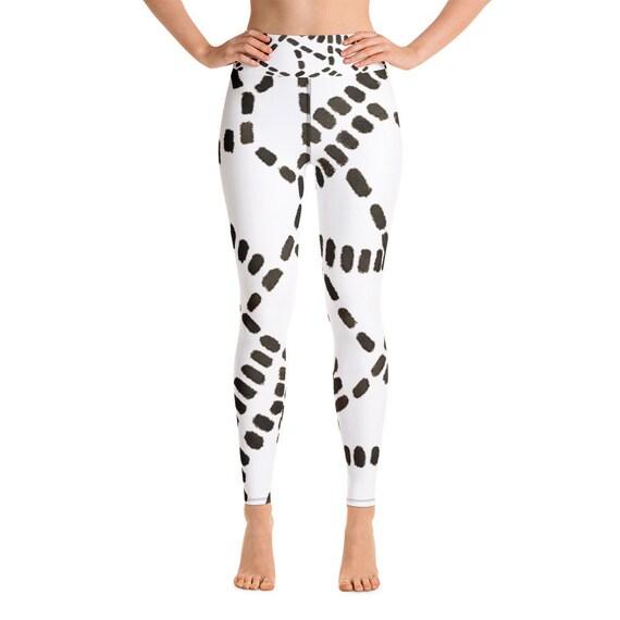 Yoga Leggings - Clizia Dash - Yoga pants - Women's Premium Ultra Soft - Buttery Soft Ankle Length Patterned Leggings