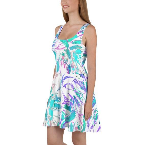 Amalfi Skater Dress