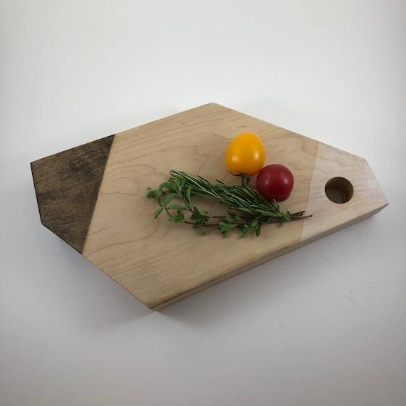 SOLD OUT- Modular Maple Cutting Board - Asymmetric - HandMade