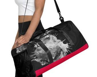 Duffle bag -  Gym Bag - Travel bag - Beach bag - Yoga bag - Small Luggage - Cabin Bag - Carry On