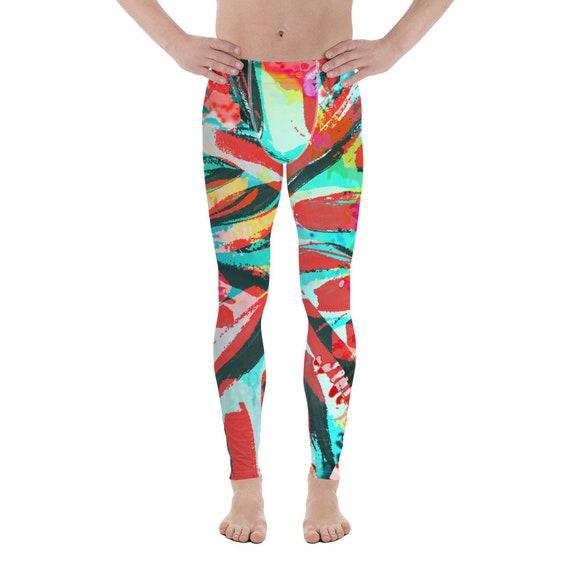 Men's Leggings - Men's pants - Premium Active Buttery Soft Workout pants - Athletic - Running - Fitness - Gymwear - Dancing Pants - Meggings
