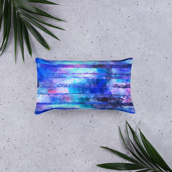 Colorful Pillow Cover|Decorative Lumbar Pillow|Summer Trend Cushion|Bedding Home Decor|Housewarming Cushion Case|Throw Pillow Top