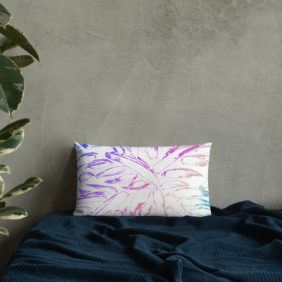 Colorful Pillow Cover Decorative Lumbar Pillow Summer Trend Cushion Bedding Home Decor Housewarming Cushion Case Throw Pillow Top