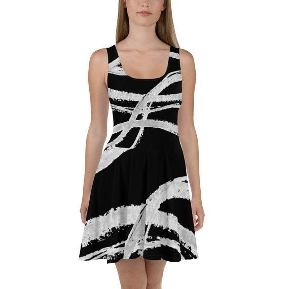 Imperfect Clizia Flow Skater Dress
