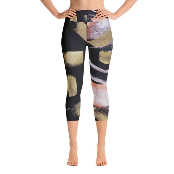 Capri Leggings - Premium Active Buttery Soft Workout Leggings -Gift- Athletic - Running - Fitness - Activewear