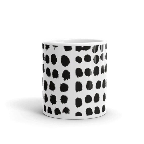 Imperfect Clizia Black Dots Mug