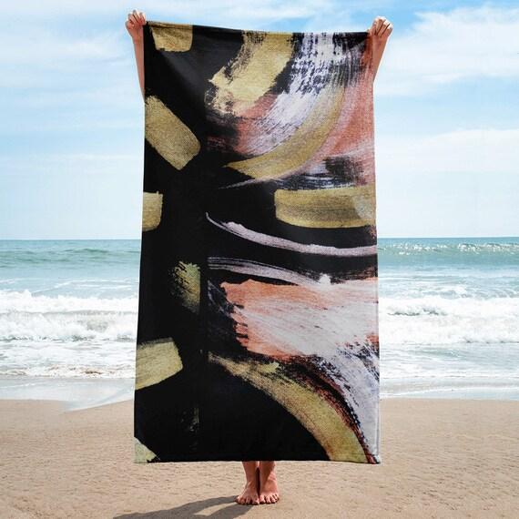 Premium Towel, Bath Spa Sauna Beach Towel Extra HIGH Quality towel , personalized towel, custom towel, birthday gift, Patterned Shapes